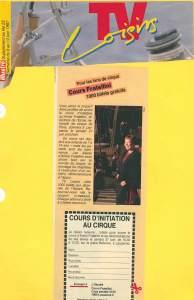 L'Illustré | TV Loisirs | 6 - 12.06.1987